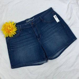 NWT Old Navy The Sweetheart Jean Shorts